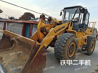 防城港柳工CLG855N装载机实拍图片