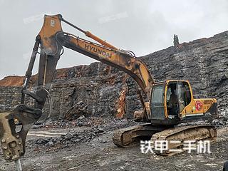 二手现代 R225LC- 9 挖掘机转让出售