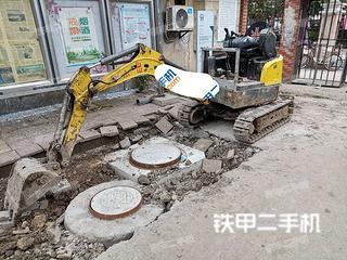 威克诺森EZ17挖掘机实拍图片