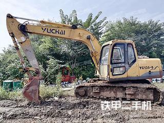 海南玉柴YC135-8挖掘机实拍图片