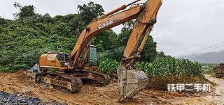 凯斯CX240B挖掘机实拍图片