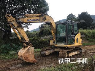 小松PC60-8挖掘机实拍图片