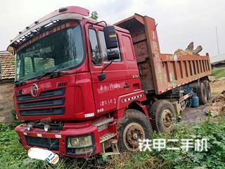 昆明陕汽重卡8X4工程自卸车实拍图片