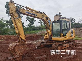 昆明小松PC110-7挖掘机实拍图片