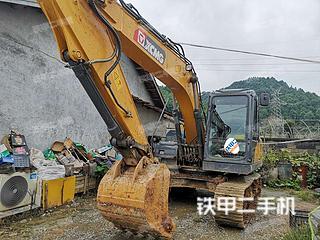 徐工XE135D挖掘机实拍图片