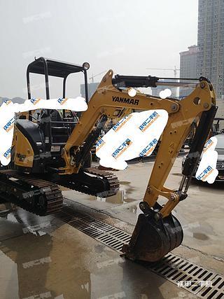 洋马Vio27-5挖掘机实拍图片