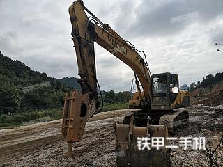 海南玉柴YC230LC-8挖掘机实拍图片