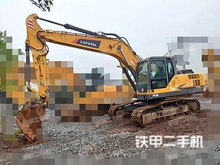 雷沃重工FR200E挖掘机实拍图片