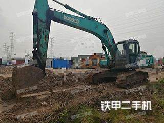 江苏-连云港市二手神钢SK250-8挖掘机实拍照片