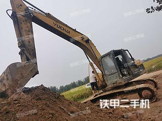 海南玉柴YC210LC-8挖掘机实拍图片