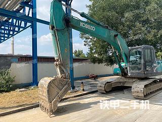 山东-潍坊市二手神钢SK210LC-8挖掘机实拍照片