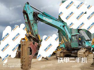 南宁神钢SK460-8挖掘机实拍图片