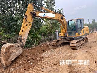 山东-潍坊市二手山重建机JCM913D挖掘机实拍照片