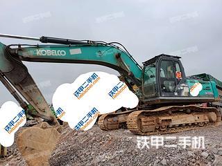 贵州-安顺市二手神钢SK270D-8挖掘机实拍照片