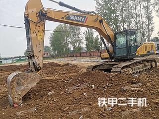 三一重工SY215C挖掘机实拍图片