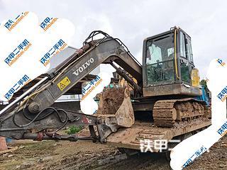 贵州-安顺市二手沃尔沃EC80D挖掘机实拍照片