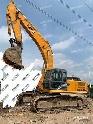 二手加藤 HD1638R 挖掘机转让出售