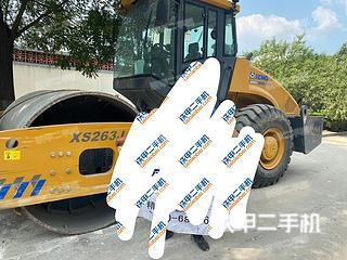 山东-潍坊市二手徐工XS263J压路机实拍照片