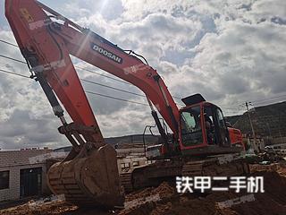 甘肃-白银市二手斗山DX300LC-9C挖掘机实拍照片
