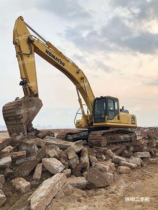 福建-厦门市二手小松PC350-8挖掘机实拍照片