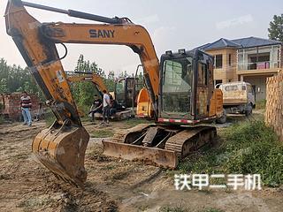 三一重工SY65C挖掘机实拍图片