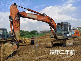 日立ZX200-3G挖掘机实拍图片