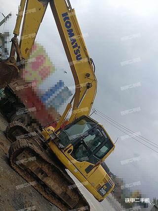 小松PC200LC-8M0挖掘机实拍图片
