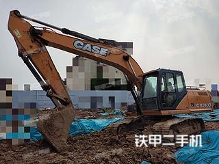 凯斯CX210BLC挖掘机实拍图片