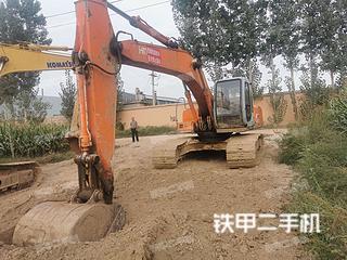 日立EX210LCH-5挖掘机实拍图片