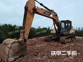 湖南-邵阳市二手三一重工SY215C挖掘机实拍照片