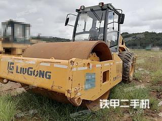 云南-昆明市二手柳工CLG6126压路机实拍照片