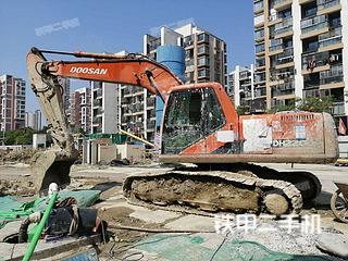 苏州斗山DH220LC-7挖掘机实拍图片