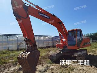 北京斗山DH220LC-7挖掘機實拍圖片