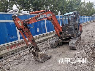 上海斗山DH55-V挖掘机实拍图片