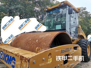 陕西-西安市二手徐工XS223JE压路机实拍照片