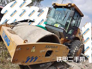 江苏-徐州市二手徐工XS263JS压路机实拍照片