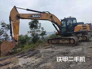 湖南-邵阳市二手三一重工SY245H挖掘机实拍照片