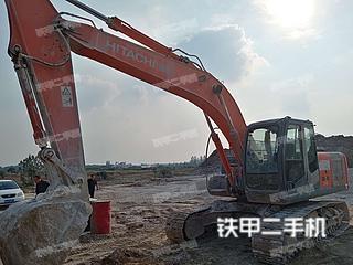 日立ZX210LC-3挖掘机实拍图片