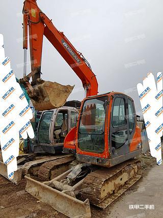 陕西-西安市二手斗山DX75挖掘机实拍照片