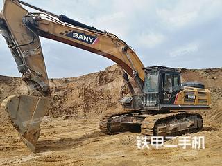 鹤岗三一重工SY485H挖掘机实拍图片