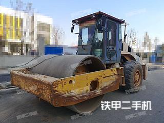 安徽-巢湖市二手柳工620A机械振动压路机实拍照片