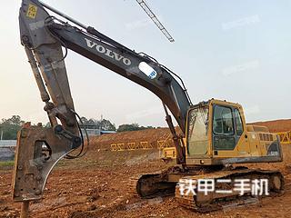 永州沃尔沃EC210BLC挖掘机实拍图片