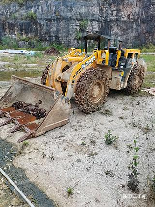 攀枝花银泽ZL928II型加重矿用装载机实拍图片
