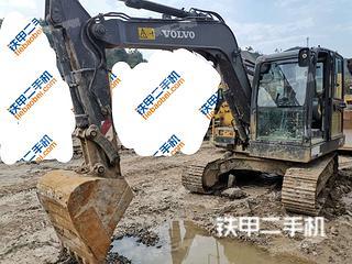 鹤岗沃尔沃EC80D PRO挖掘机实拍图片