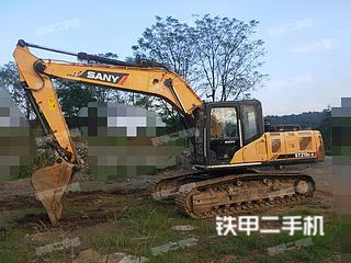 永州三一重工SY215C挖掘机实拍图片