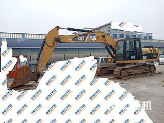 临沂卡特彼勒320D液压挖掘机实拍图片
