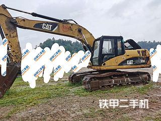 梧州卡特彼勒320D液压挖掘机实拍图片