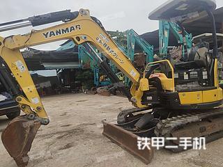 洋马Vio30-6挖掘机实拍图片