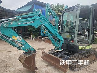 洋马VIO30-5B挖掘机实拍图片