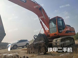 秦皇島斗山DH300LC-7挖掘機實拍圖片
